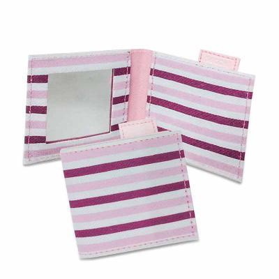 Secoli Brindes - Peça compacta, charmosa e prática que transporta, com segurança, itens pequenos de beleza, como espelho e pinça.