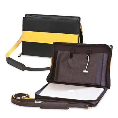 Secoli Brindes - Pasta para Notebook de até 15 polegadas, bolso para acessórios e alça removível. A proteção e segurança que apenas sua marca oferece ao cliente!
