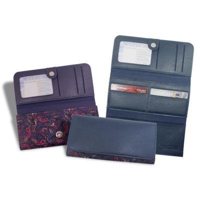 f345338fd Secoli Brindes - Esta carteira permite que seus cartões e documentos  permaneçam organizados e fáceis de