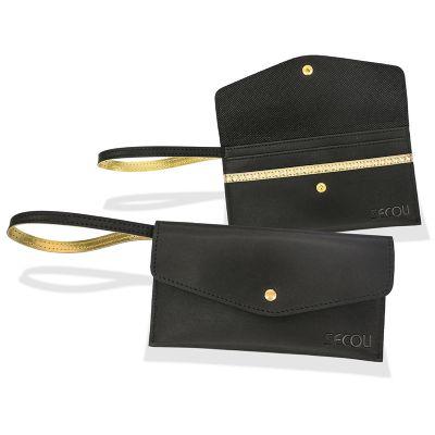 Secoli Brindes - Elegante, carteira ideal para presentear e manter sua marca constantemente junto a cliente