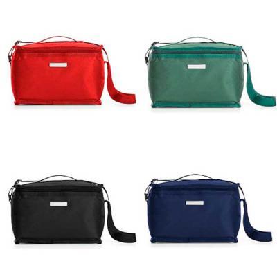 Crazy Ideas - Bolsa térmica 8 litros em nylon com bolso traseiro externo de malha, duas alças para mãos, sendo uma delas ajustável.Parte interna com revestimento té...