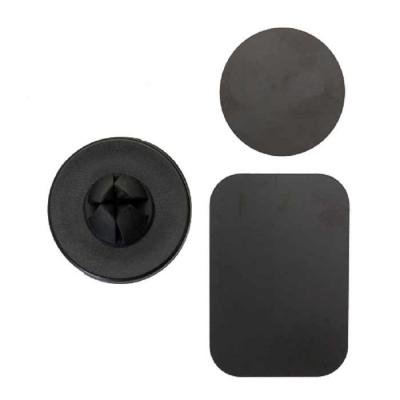 """Crazy Ideas - Suporte veicular magnético plástico resistente com frente emborrachada. Para utilizar basta colocar a """"ficha"""" circular ou retangular magnética na capa..."""