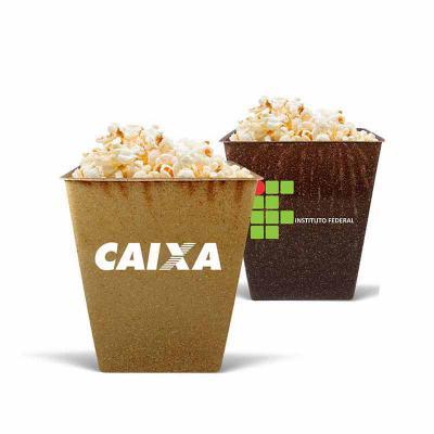 Crazy Ideas - Pipoqueira em formato retangular sustentável personalizado