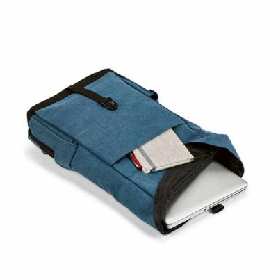 Crazy Ideas - Mochila para notebook. Algodão canvas pré-lavado. Compartimento principal forrado, com 2 bolsos interiores e divisória almofadada para notebook até 15...