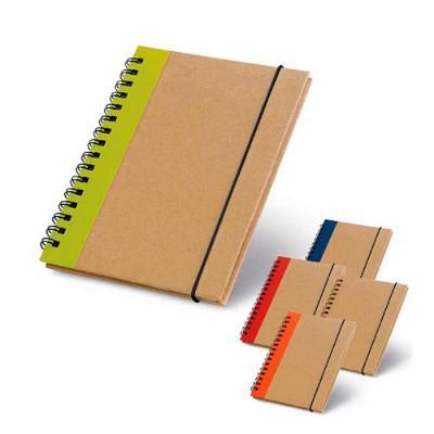 Crazy Ideas - Caderno capa dura. Cartão. Com 60 folhas não pautadas de papel reciclado. 105 x 145 mm.