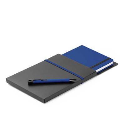 Crazy Ideas - Kit de caderno e esferográfica. C. sintético. Com 80 folhas não pautadas. Fornecido com caixa presente em PP. Esferográfica: ø10 x 137 mm   Caderno: 1...