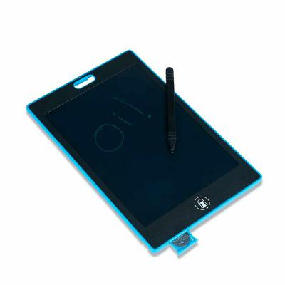 Crazy Ideas - Tablet para anotações com tela lcd e caneta plástica. Tablet plástico com tela de 8,5 polegadas, possui botão inferior com formato de borracha que ao...