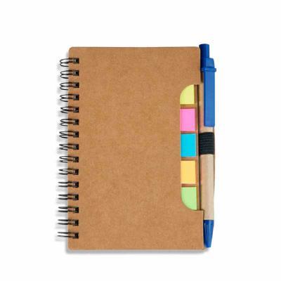Crazy Ideas - Bloco de anotações com autoadesivos e caneta ecológica