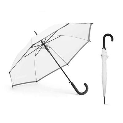 Crazy Ideas - Guarda-chuva. Poliéster. Com faixa refletora. Pega revestida a borracha. Abertura automática. ø960 x 815 mm