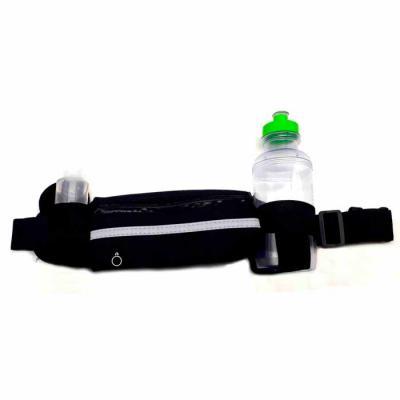Crazy Ideas - Kit contendo pochete em neoprene com fecho plástico, acompanha squeeze plástico de 500ml e Álcool em Gel 60ml 70% antisséptico para higienização a sec...