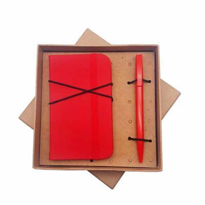 Crazy Ideas - Kit com bloco de anotação e caneta em caixa kraft
