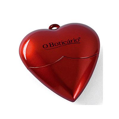 Crazy Ideas - Pen drive 4GB em formato de coração.