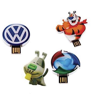 Crazy Ideas - Pen drive customizado 4GB em diversos formatos.
