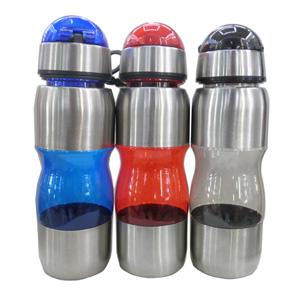 Crazy Ideas - Squeeze personalizada em alumínio e plástico com capacidade para 500 ml.