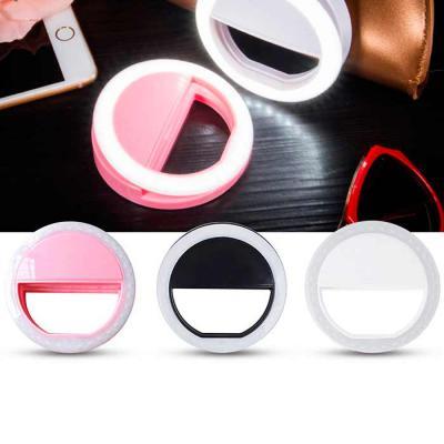 Crazy Ideas - Luz selfie ring light clip