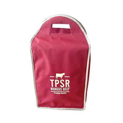Ecofábrica - Bolsa térmica Teen Cooler, feita em nylon. Dimensões: 24 x 40 x 14 cm. Capacidade: 6 garrafinhas ou 8 latinhas com gelo.