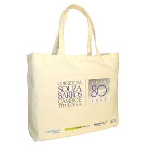 4146bfd49dfde ecofabrica - Ecobag ou sacola para brinde em lona de algodão cru (artigo  230 g