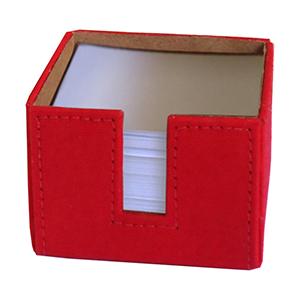 Ecofábrica - Porta-papel estrutura rígida em papelão revestido com lona de algodão (externa) e papel kraft (interna), acompanha miolo composto por 700 folhas solta...