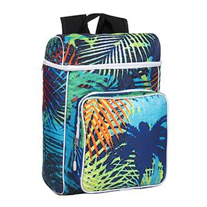 Kriart Brindes - Mochila com divisória para laptop, bolso interno, bolso frontal, forrada com tecido resinado. Personalizamos cores e logotipo