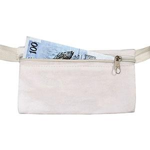 Kriart Brindes - Porta-dinheiro para usar em viagens.