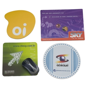 Artebelli Promocional - Mouse pad personalizado, confeccionado em material de alta qualidade, em diversos formatos, cores e tamanhos e gravação a sua escolha. Ofereça a seus...