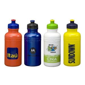 Artebelli Promocional - Squeeze com capacidade para até 500 ml, confeccionada em material de excelente qualidade, em diversas cores e gravação totalmente personalizada. Quant...