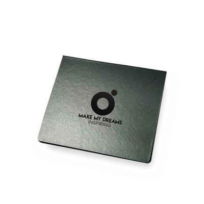 Ótima Gráfica - Conjunto de Sticky Notes com 7 blocos adesivos. Personalize com sua marca!  Revestimento: Bengaline Preto ou Titanium   01 bloco 100 x 75 mm com 30 f...
