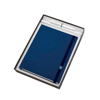 Ótima Gráfica - Conheça o Kit Caixa Quadro da Ótima. Além da agenda ultra, caneta e conjunto de sticky notes, a base da embalagem é um porta papel A4 e a tampa um qua...