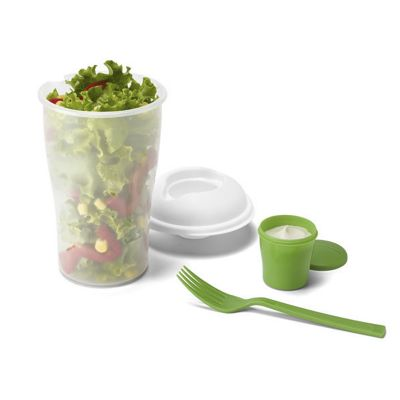 Malgueiro Brindes - Copo com tampa para salada personalizada.