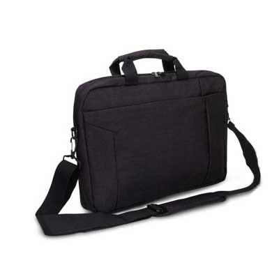 Luminati Brindes - Maleta personalizada para laptop, acolchoada internamente, com alças de mão e tiracolo.  Um brinde que facilita o transporte para qualquer local.  Mui...