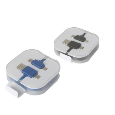 Redd Promocionais - Cabo USB com Suporte para Celular Personalizado 1