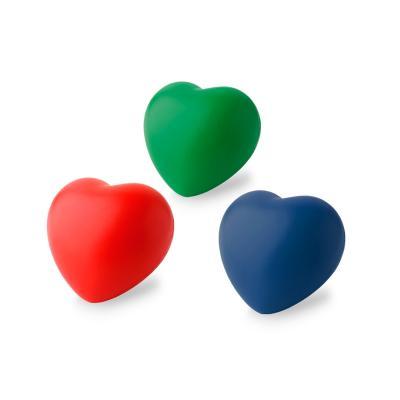 Redd Promocional - Coração anti-stress personalizado produzido em vinil atóxico. Ideal para brindes promocionais e eventos corporativos.
