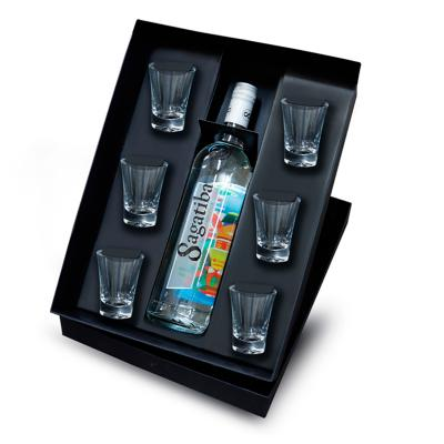 Redd Promocionais - Kit Bebida com Cachaça  e copos Personalizado 1