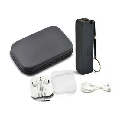 Redd Promocional - Kit Customizado com Power Bank e Fone de Ouvido 1