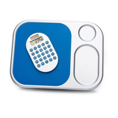 Redd Promocional - Mouse pad com calculadora (removível) de 8 dígitos, material de plástico. Embalagem caixa de papelão branca.