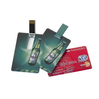 Redd Promocional - Pen Drive  Personalizado 16GB em Formato de Cartão 1