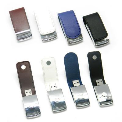 Redd Promocional - Pen Drive em Couro 4GB para Brinde Personalizado 1