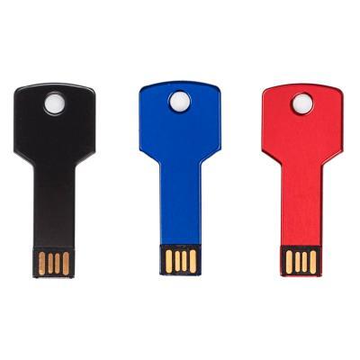 Redd Promocional - Pen drive em metal no formato chave 4GB 1