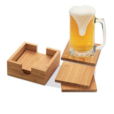 Redd Promocional - Porta Copo em Bambu Personalizado 1