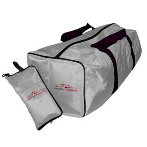 Mallumar - Bolsa de viagem com interior super espaçoso.