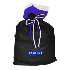 Mallumar - Saco para embalagem com impressão personalizada e lacinho colorido.