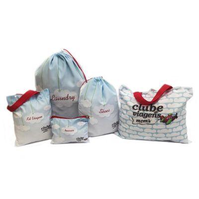 Bag & Pack's - Kit viagem com 5 peças