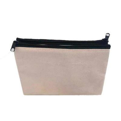 Bag & Pack's - Necessaire dupla em algodão com forro em nylon