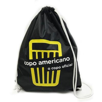 Bag & Pack's - Mochila em nylon resinado com cordões