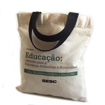 Bag & Pack's - Sacola de algodão personalizada.
