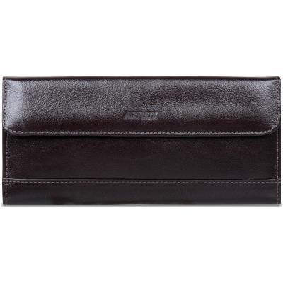 Artlux Brindes de  Couro - Carteira masculina com porta cheque