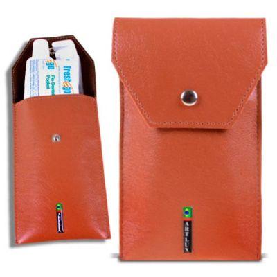 Artlux Brindes de  Couro - Kit higiene bucal