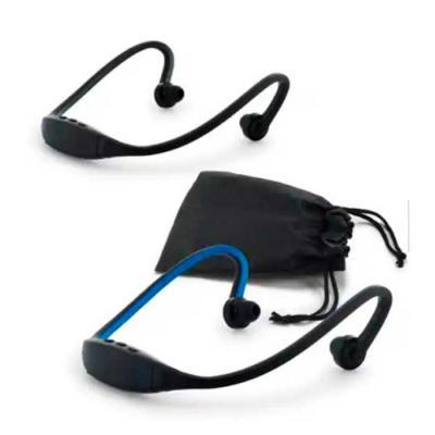 Imagine Pack Brindes - Fone de ouvido. ABS e silicone. Com transmissão via bluetooth. Autonomia até 1h. Função para atender chamadas e conexão à playlist do dispositivo móve...