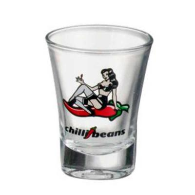 Imagine Pack Brindes - Copo de bar Olé dose de 60 ml Material: vidro. Altura: 7,07 cm e diâmetro de 5,29 cm. Capacidade: 60 ml. Incolor.