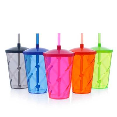 Imagine Pack Brindes - Este copo é ideal para personalizar e servir milk-shake e bebidas em geral de  forma elegante e prática. Fabricado com material cristalino, sua transp...